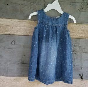 12-18M H&M JEAN DRESS